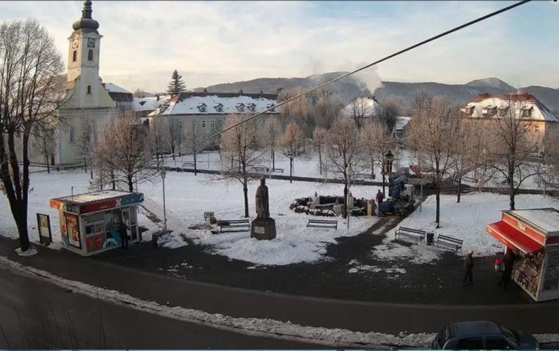 park kralja tomislava ogulin snijeg ist
