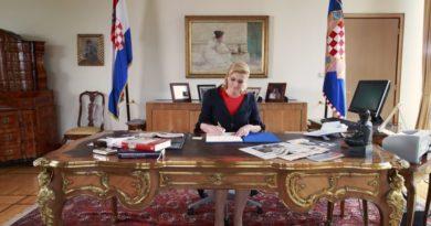 Predsjednica Kitarović u srijedu u Ogulinu