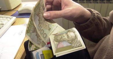 novac na ruke kune