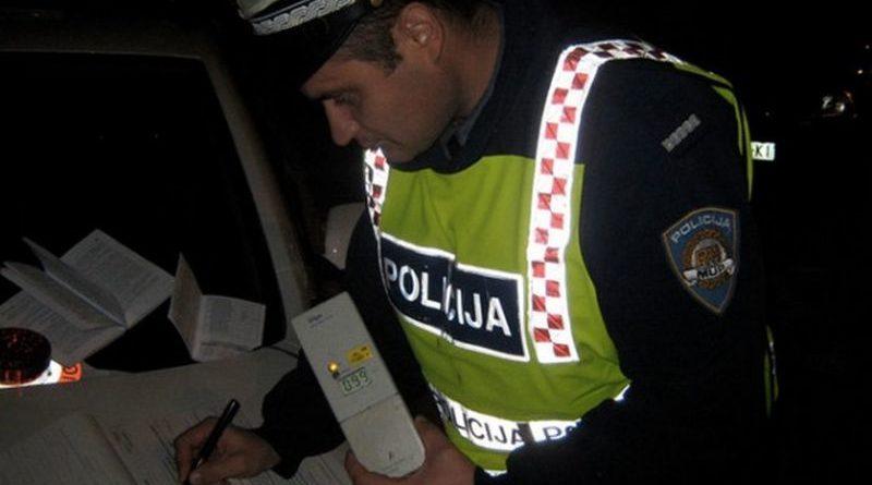 Policija od večeras ponovo u akciji – alkotestirat će se svi zaustavljeni vozači, kontrola i pojaseva