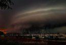 U Novigradu su tamni oblaci dan pretvorili u noć, u Zagorju padala tuča veličine lješnjaka