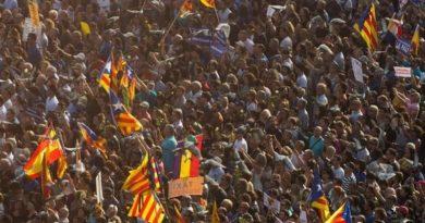 prosvjed barcelona