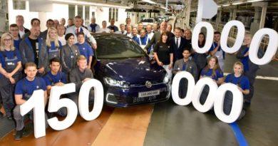 Produktionsjubiläum: 150-millionster Volkswagen heute im Stammwerk Wolfsburg vom Band gelaufen
