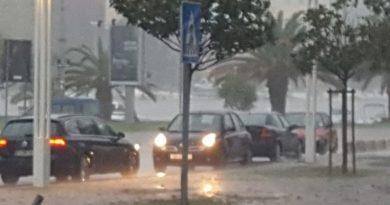 Zadar kiša