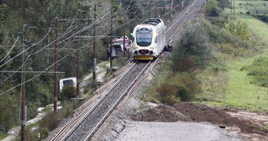 vlak nesreća