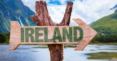 Dronom za Irsku
