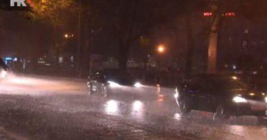 Stiglo najavljeno nevrijeme – kiša pada u cijeloj zemlji, a na Platku snijeg 30 cm