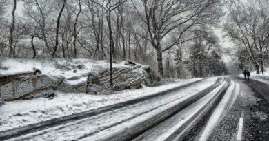 snijeg na cesti