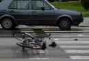 Tragedija na cesti: Mladić je automobilom naletio na dijete na biciklu i teško ga ozlijedio