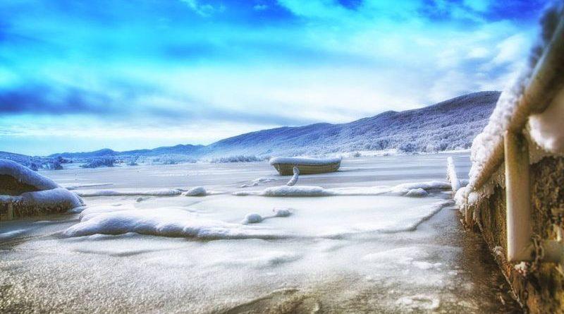 jezero zimi ist