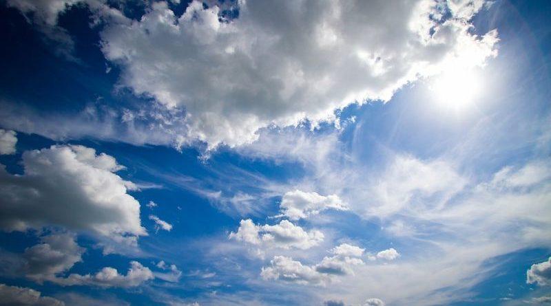 oblaci vedro