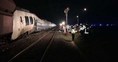 vlak sudar
