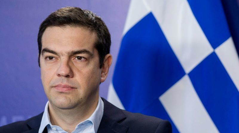 Greek PM Alexios TSIPRAS visit the EU Parliament