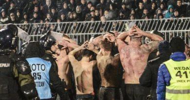 Beograd Partizan Splićani tučnjava