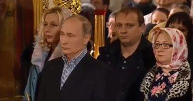 Putin na polnoćki ist