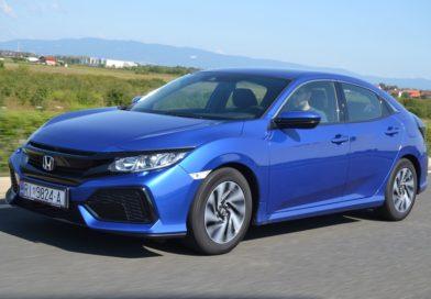 Test: Honda Civic 1.0 VTEC Turbo Comfort, tri cilindra, sto užitaka