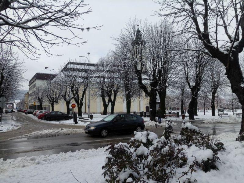 snijeg Ogulin ist