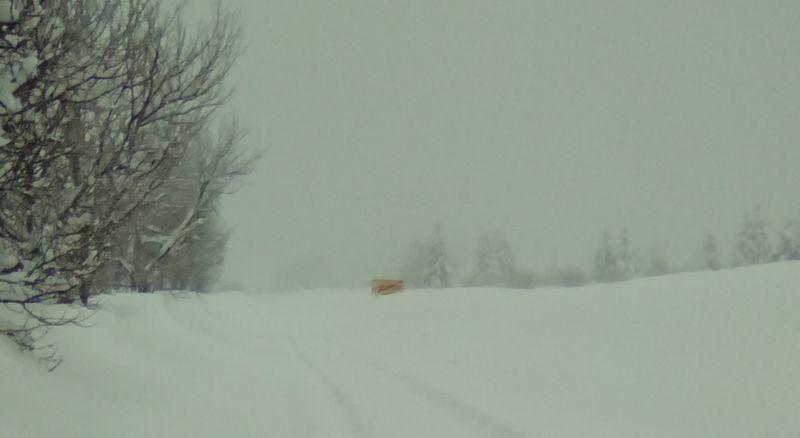 Saborsko u snijegu