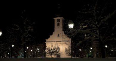 Crkva Sv Križa zima ist