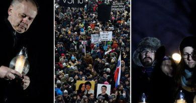 Slovačka, prosvjed