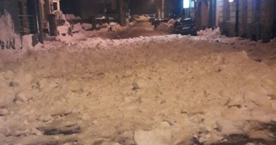 snijeg sa krova ist