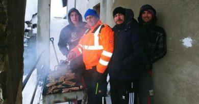 zimsko roštiljanje isr