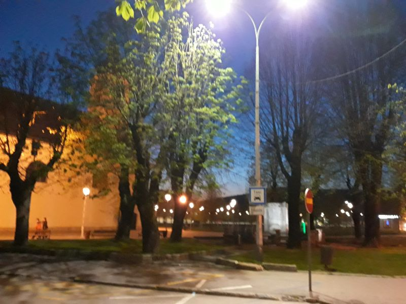 Proljetno predvečerje u Ogulinu