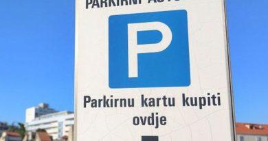 Sutra – dan besplatnog parkiranja putem aplikacije PayDo