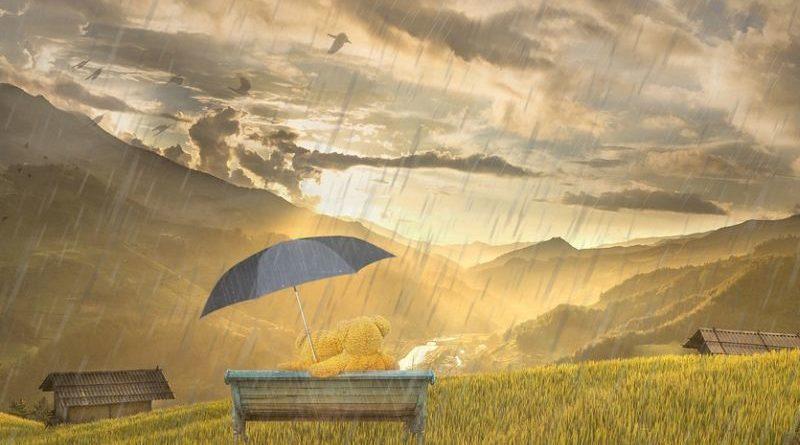 promjenjivo vrijeme kiša kišobran ist