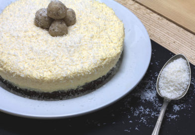 Bezglutenska rafaelo torta