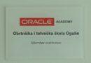 Obrtnička i tehnička škola postala članicom Oracle akademije