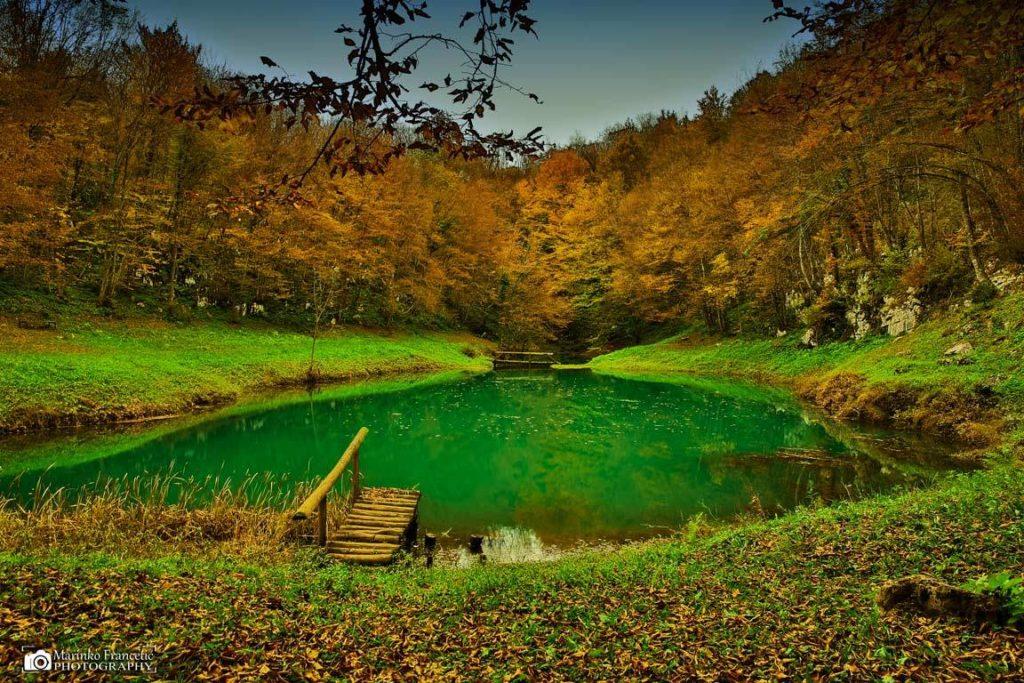 Smitovo jezero marinko v