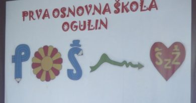 Prva osnovna škola Ogulin obilježila Dan škole