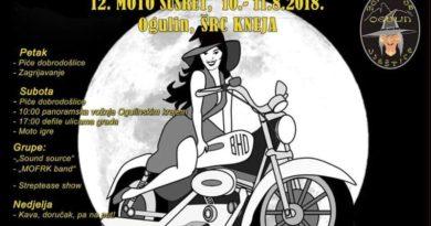 Moto susret 2018 plakat
