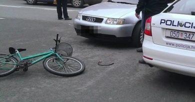 nesreća bicikl