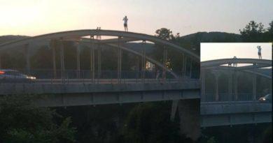 penjanje po mostu ogulin