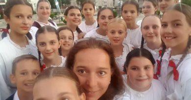 Dječji folklorni ansambl KUD-a Klek vratio se iz Makedonije