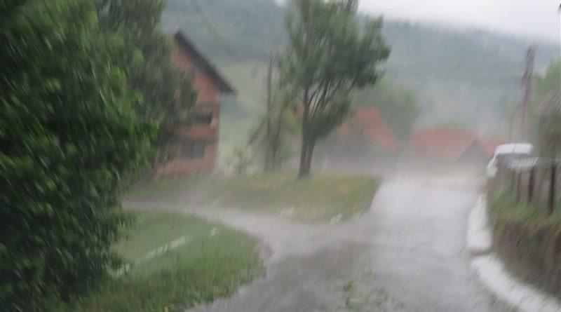kiša pljusak ist
