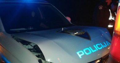 sudar policija ist