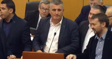 Okupacija govornice sabora ist