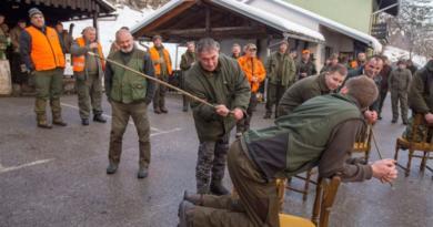 bozicni lov 2018 ist