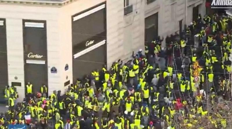 prosvjedi francuska žuti prsluci ist