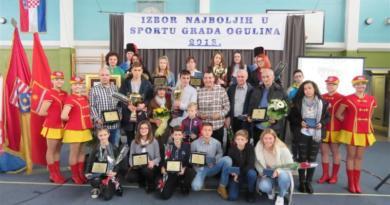 Izabrani najbolji u sportu grada Ogulina za 2018. godinu