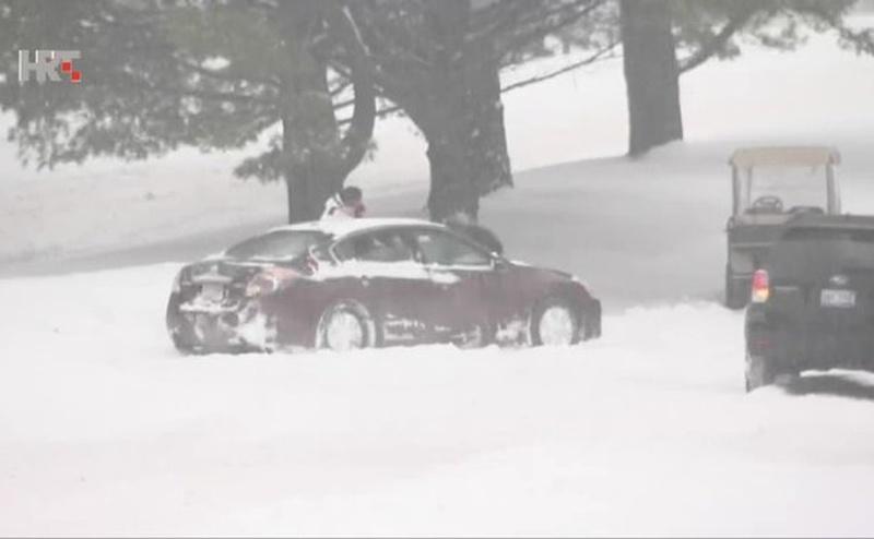 snijeg amerika ist