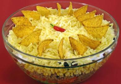 Meksička slojevita salata