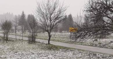 Saborsko snijeg travanj 2019 ist