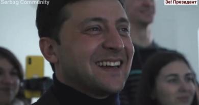 Volodimir Zelenskij ist