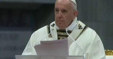 PAPA Franjo ist