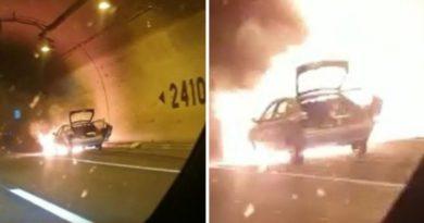 eksplozija auta u tunelu ist