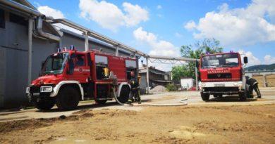 vatrogasna vježba u Bjelinu ist